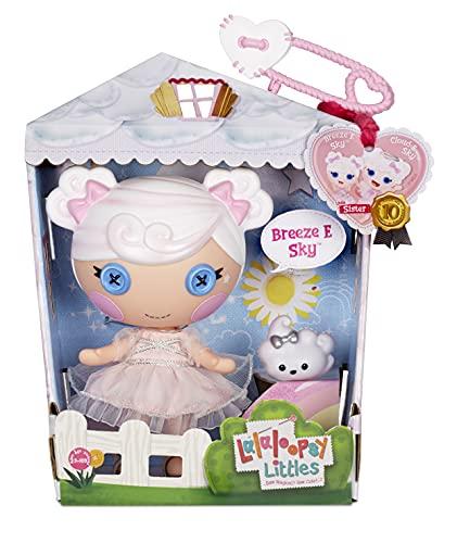 Lalaloopsy Littles Doll Breeze E. Sky con Nube-Muñeca con alas de ángel de 18 cm-Vestido Rosa y Zapatos Removibles-Caja Reutilizable como casa-Edad 3-103 años, Multicolor (577171C3)