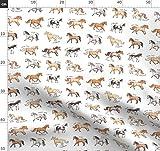 Pferd, Pony, Tier Stoffe - Individuell Bedruckt von