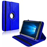 NAUC Tablet Hülle für Blaupunkt Atlantis Discovery 1001A Tasche Schutzhülle Hülle Cover, Farben:Blau