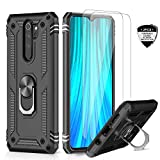 LeYi for Xiaomi Redmi Note 8 Pro Case and Tempered Glass