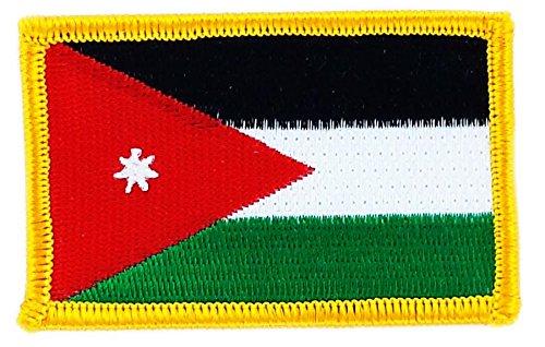 Opnaaier, geborduurd, vlag Jordanië om op te strijken, badge, wapen