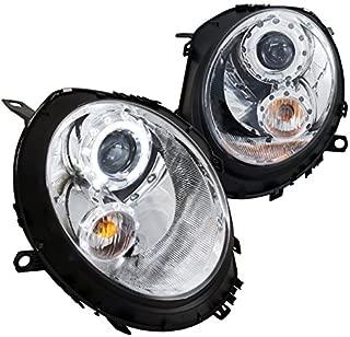 Spec-D Tuning 2LHP-MINI06-TM Mini Cooper S/Base Chrome Halo Projector Headlights