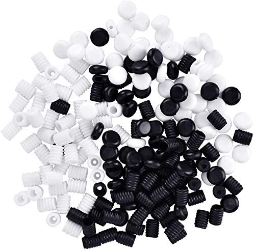 ERKOON Very popular Limited Special Price 200PCS Cord Locks Silicone Fastener Dra Toggles for Ends