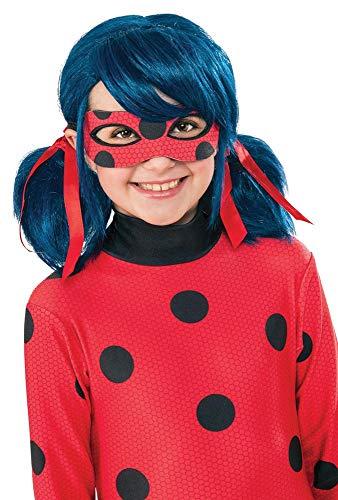 Ladybug - Peluca complemento de disfraz infantil, talla ú