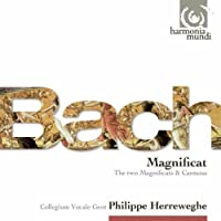 Bach, J.S.: Magnificat BWV243a, Cantate Mit Fried und Freud, Christmas Cantatas, Magnificat BWV243 by Collegium Vocale (2010-11-09)