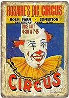Rosaires Big Circus ティンサイン ポスター ン サイン プレート ブリキ看板 ホーム バーために