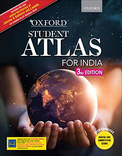Students Atlas for India by Oxford 3rd Edition (Highly Useful for Competitive Exams)