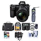 Nikon Z7 FX-Format Mirrorless Camera with NIKKOR Z 24-70mm f/4 S Lens - Bundle with Camera Case, Spare Battery, 72mm Filter Kit, Dual Charger, Remote Shutter Trigger, Pc Software Package, and More