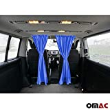 OMAC Sonnenschutz Gardinen für Transporter IV V VI T4 T5 T6 dunkel blau
