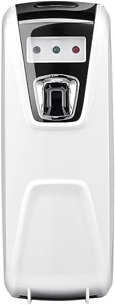 SHZONS Air Freshener Dispenser Light Sensor Perfume Dispenser Auto Self Timing Fragrance Room Spray Wall Mounted Toilet Bathroom Air Freshener