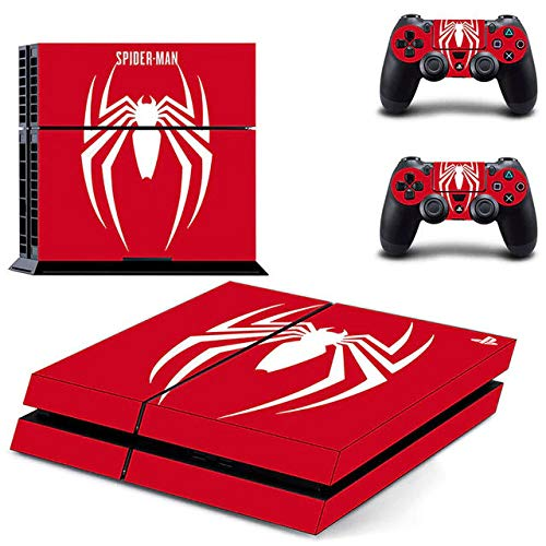 Spider Hero - PS4 Skin Console - PS4 Controller Skin Cover Vinyl Decal Protective by AMALA NAIDU