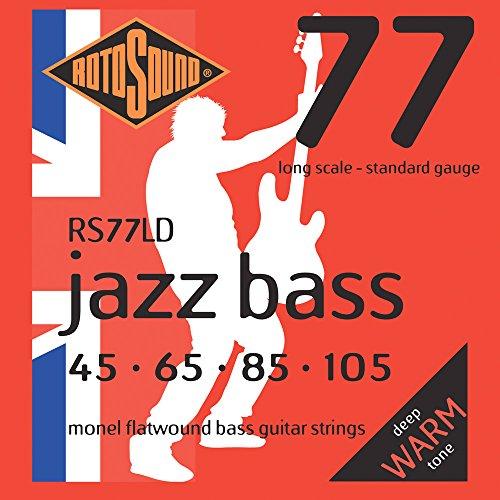 Rotosound Bass Saiten,4er,45-105,Flat