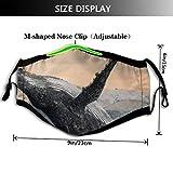 Zoom IMG-1 copertura facciale antipolvere protettiva per