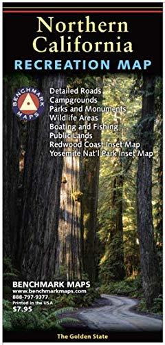 Northern California Recreation Map