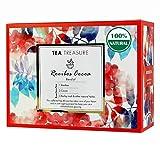 TeaTreasure Rooibos Cocoa Red Tea - Caffeine Free Antioxidants Rich South African Tea