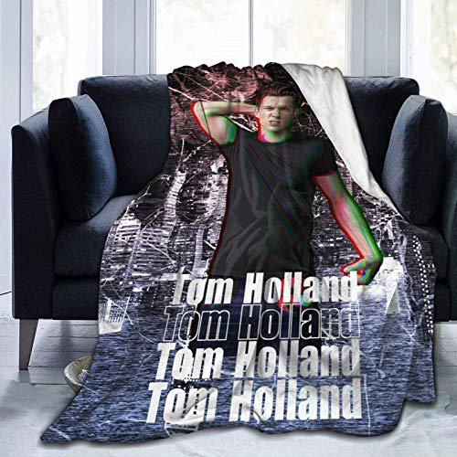 Manta De La Siesta Felpa Sofás Franela Amo al Encantador Tom HOL-L Buen sueño L127cm x W102cm