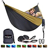 Unigear Camping Hammock 320 x 200cm for 2 Person, Portable Lightweight Parachute Nylon