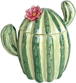 ceramic cactus decor