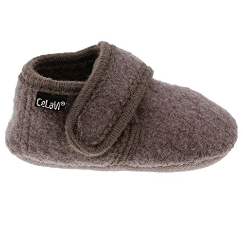CELAVI Unisex-Baby Wool Shoe Hausschuh, Dusty Lavender, 21 EU - 6