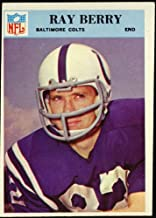 Raymond Berry (Baltimore Colts) 1966 NFL Football Trading Card (Philadelphia Chewing Gum) (#15)