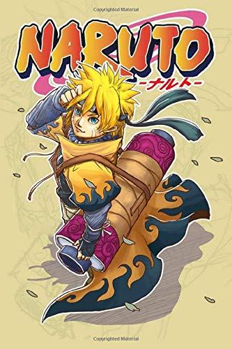 """[画像:Naruto: Anime Notebook, 6"""" x 9"""", 100 Pages, college ruled, Perfect for Taking Notes, Writing … Gift for Boys (anime lovers)]"""