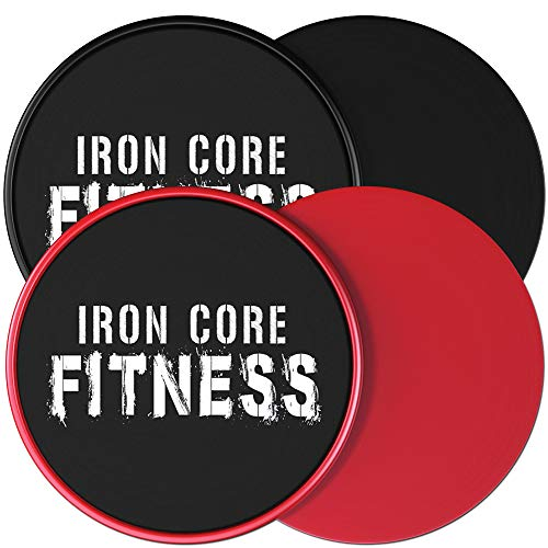 Multi Pack Core Sliders. Sliders Fitness 2 pack Includes 1 Black Set and 1 Set of Red discs. For group fitness or at home workouts. A favourite of Personal Trainers. Fitness Discs Sliders Bulk