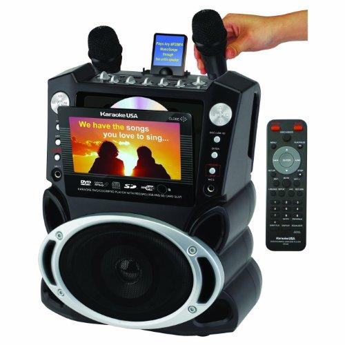 (OLD MODEL) Karaoke USA Karaoke System with 7-Inch...