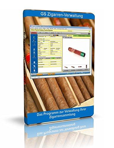 GS Zigarren-Verwaltung - Software zur Verwaltung Ihrer Zigarren-Sammlung - Datenbank Programm für Zigarren