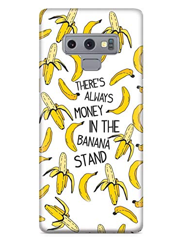 Inspired Cases - 3D Textured Galaxy Note 9 Case - Rubber Bumper Cover - Protective Phone Case for Samsung Galaxy Note 9 - There's Always Money in The Banana Stand
