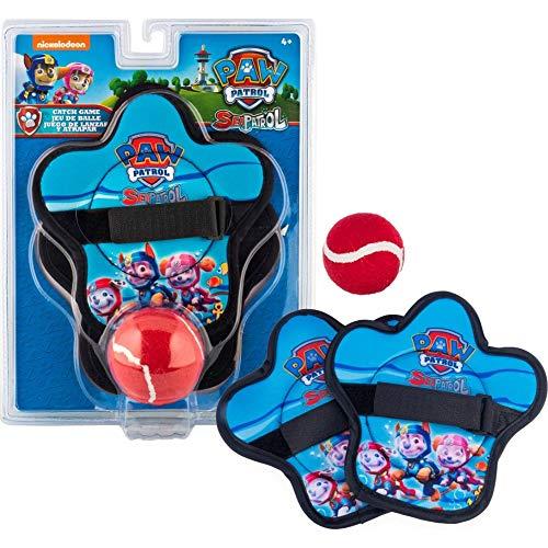 SwimWays Klettballspiel für Kinder ab 4 Jahren mit 2 Fangscheiben und 1 Klettball