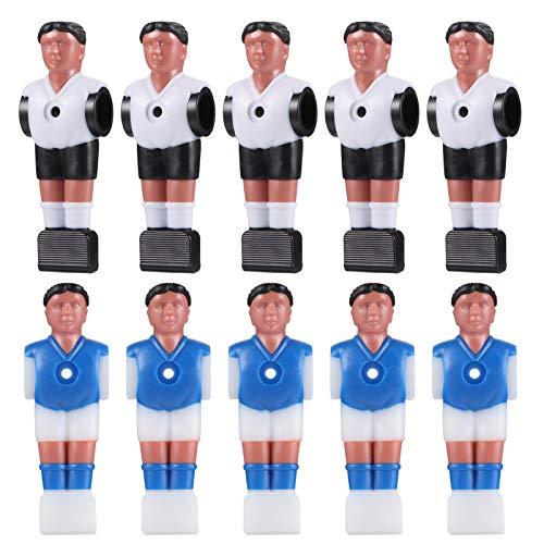 BESPORTBLE Tischfußball Figuren Tischfußball Männer Mini Fußballspieler Ersatzteile für Tischfußball Tischkicker 10 Stück