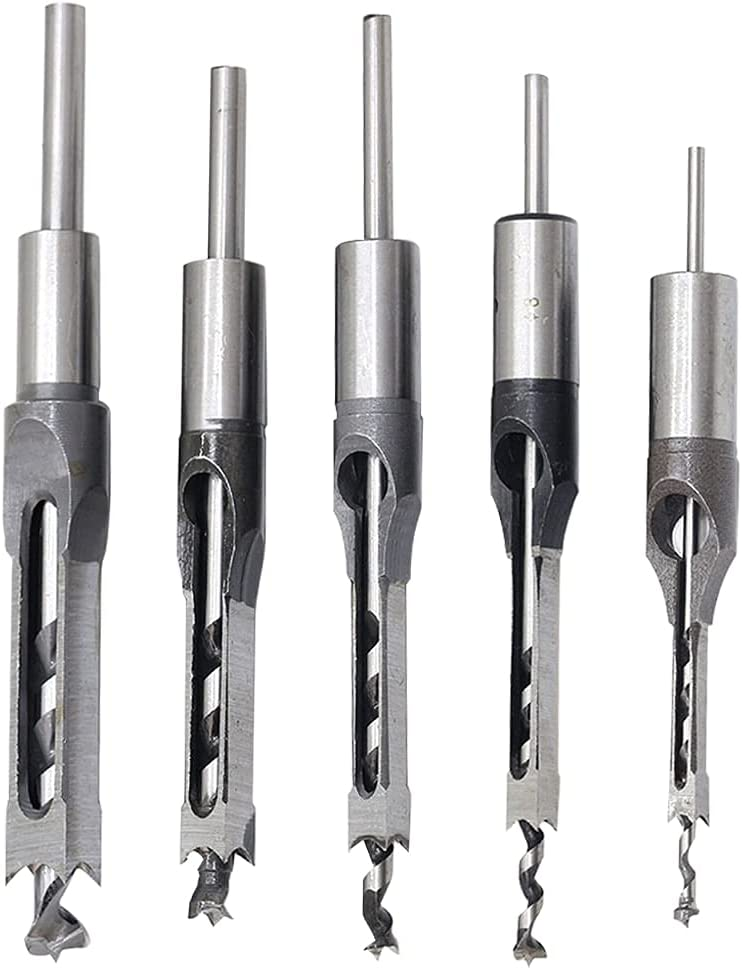 Drill Bits Don't miss the campaign 4pcs Twist HSS Mortise Saw Chi Hole Limited time for free shipping Square