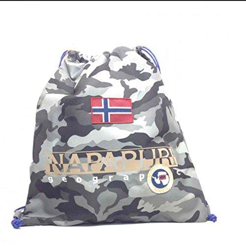 Gym backpack   Napapijri North Cape   5ANN3R22-Camo Grey