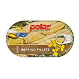 MW polar Herring Fillets in Oil, 3.5 Ounce (Pack of 18)
