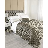 Riva Paoletti Limoges 240X250 Bedspread Taupe, Polyester, 240x250cm
