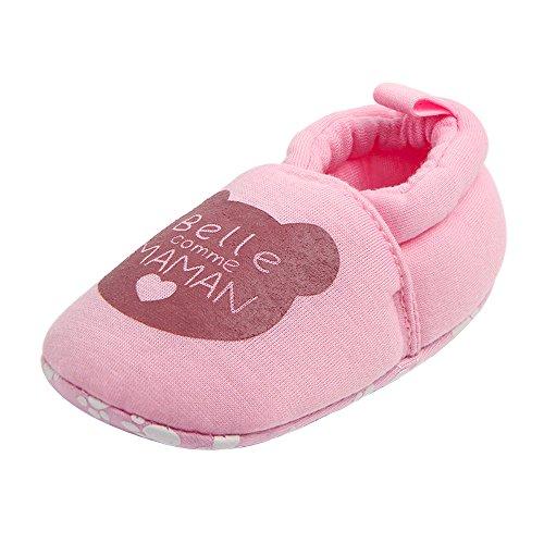 Alwayswin Lauflernschuhe Neugeborene Baby Star Print Sneaker Schuhe mit Weicher Sohle für Kleinkinder Babyschuhe rutschfeste Unterseite Baumwolle Warme Kleinkindschuhe