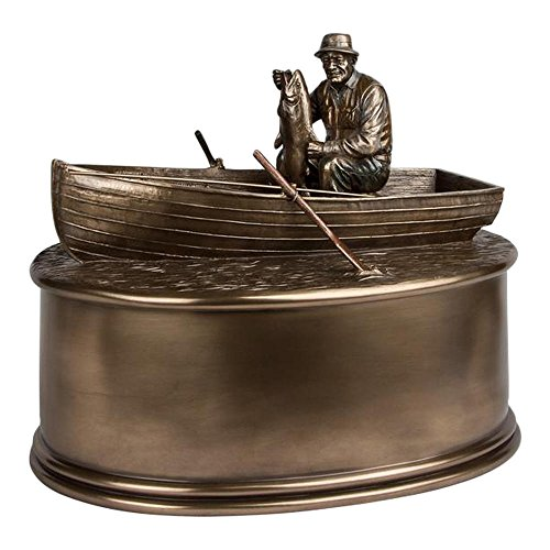 Perfect Memorials Fisherman Boat Urn