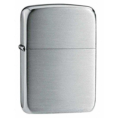 Zippo Lighter Replica Hand Satin Silver