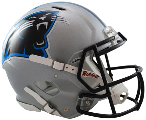 NFL Riddell Football Speed Mini Helm Carolina Panthers