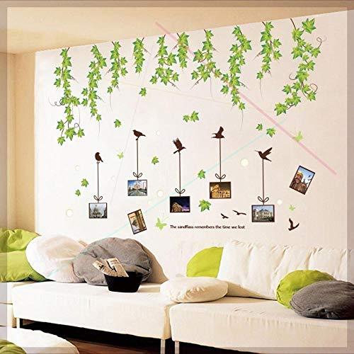 Adesivi murali Collage fresco da parete Adesivi murali carta da parati personalità camera da letto principessa grande Zhang letto murale autoadesivo @ M_Extra grande