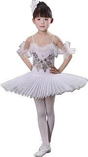Huicai Girl Sequins swan Lake Ballet Dance Costume Girls Ballet Skirt