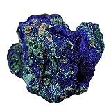 NBKLSD 1 pz Natural Azzurrite Malachite Cristallo Esemplare Minerale Reiki Pietra (Color : 2 3 cm)