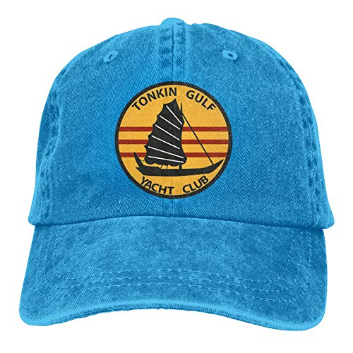 US Navy Tonkin Gulf Yacht Club Patch Military Veteran Classic Baseball Cap Adjustable Dad Hat Trucker Baseball Cap Hat