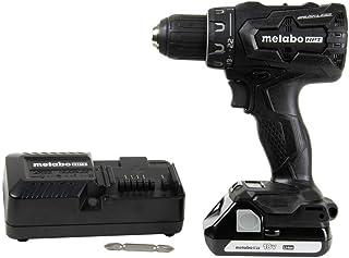 Metabo HPT DS18DBFL2QB 18V Cordless Driver Drill, 1.5 Ah Lithium Ion Battery, LED Light, Brushless, Lifetime Tool Warrant...