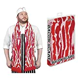 "71"" Soft-Knit Acrylic Bacon Scarf"
