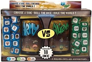 army vs aliens dice game