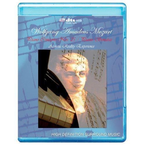 Wolfgang Amadeus Mozart: Piano Concerto No.25 / Piano Sonatas - Acoustic Reality Experience [7.1 DTS-HD Master Audio Disc](BD9)[Blu-ray] [DVD-AUDIO]