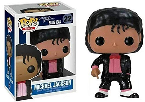 TYRIXEN Funko Pop Michael Jackson Figura de Vinilo 10 cm Arte Recuerdo Juguete Coleccionable estatuas de Marionetas de Anime-mi