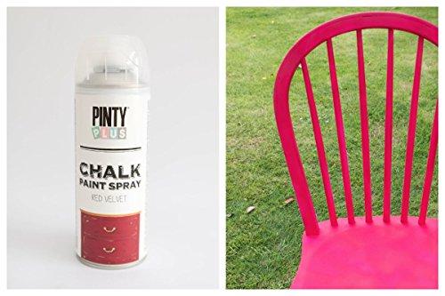 Pintura a la tiza en aerosol, con base al agua, varios colores,400ml , RED VELVET, 400 ml