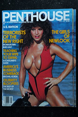 PENTHOUSE US 1986/05 Dallas Roddy Christine Dupre Senator Lowell Weicker The Girls of Newlook